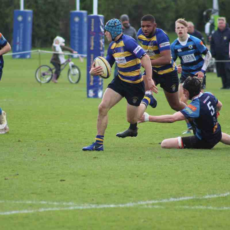 Colts - National Cup QF vs Topsham - March 2019 - Mark Weinel