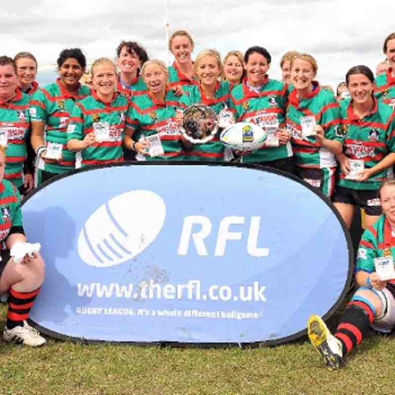Women's RLC Plate Winners 2011