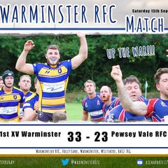 Warminster vs Pewsey Vale - 15/9/18