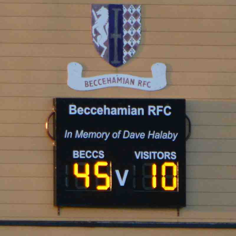 Beccs Ladies v High Wycombe Belles - 11/11/18