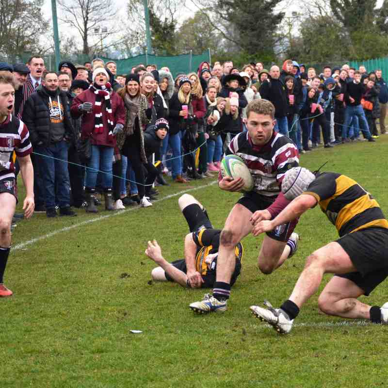 Beccs 1st XV v Bromley - London SE3 06/04/19