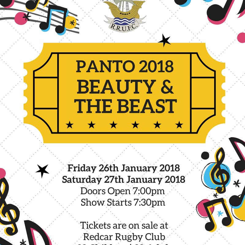 RRUFC Panto: Beauty & The Beast