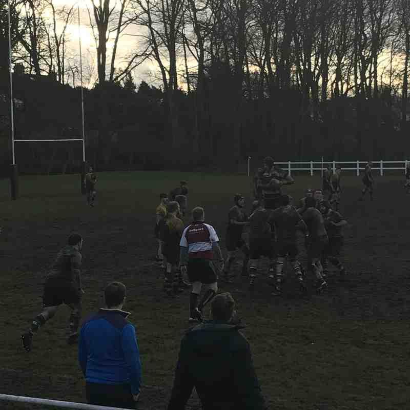 1st Away at Roundhegians 17/2/18