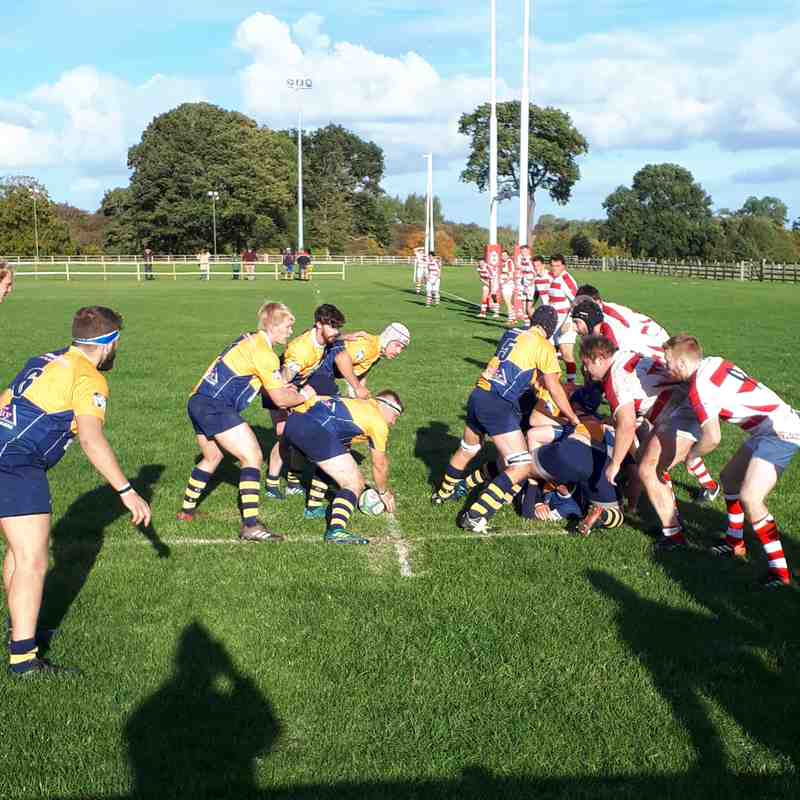 1sts v Wetherby 6/10/18