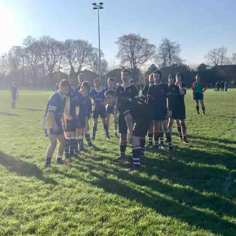 U14s (28) vs Knutsford (19) Cheshire Cup Nov 2018