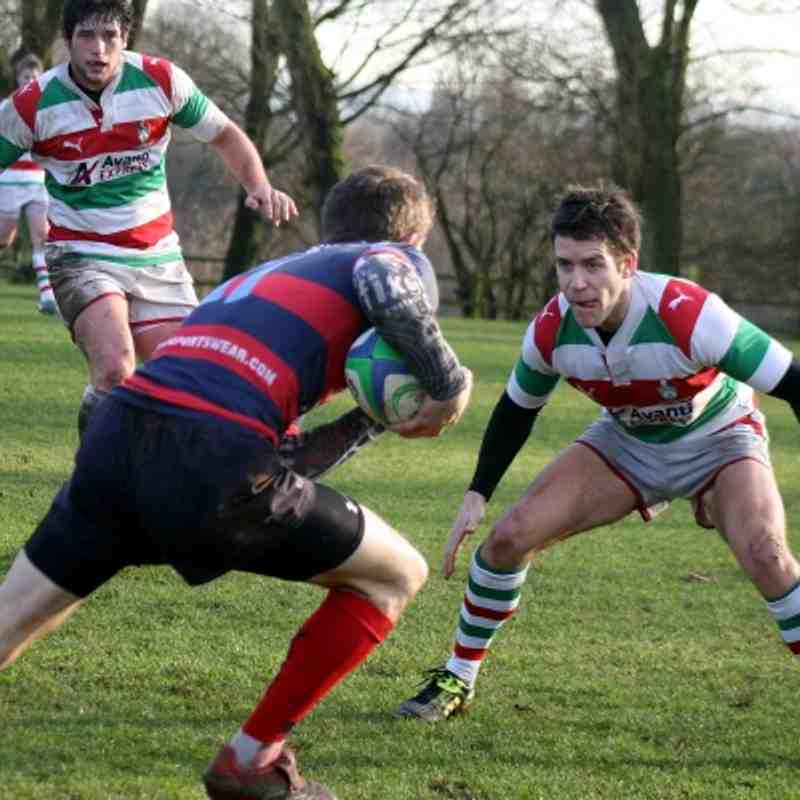 Stockport 1st XV v Westoe (H)  280112