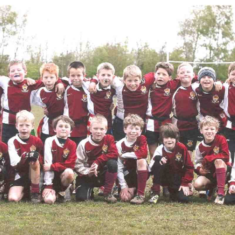 Cleve U9s and tournament winners 2011