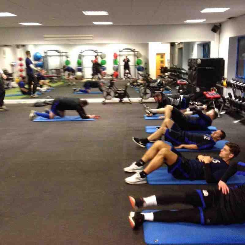 Danny Gregson Takes Training (11/02/2016)