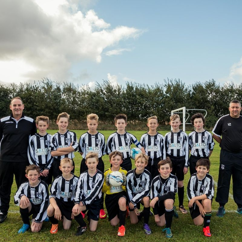 Acle United Under 12's lose to Gorleston Rangers Falcons 2 - 0