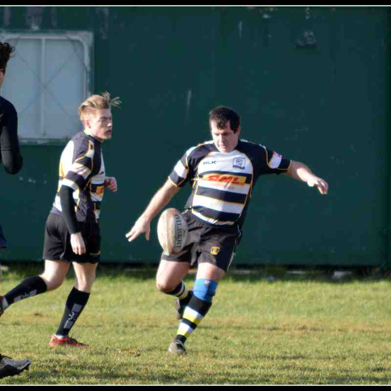 2nds vs Daventry 28.1.17