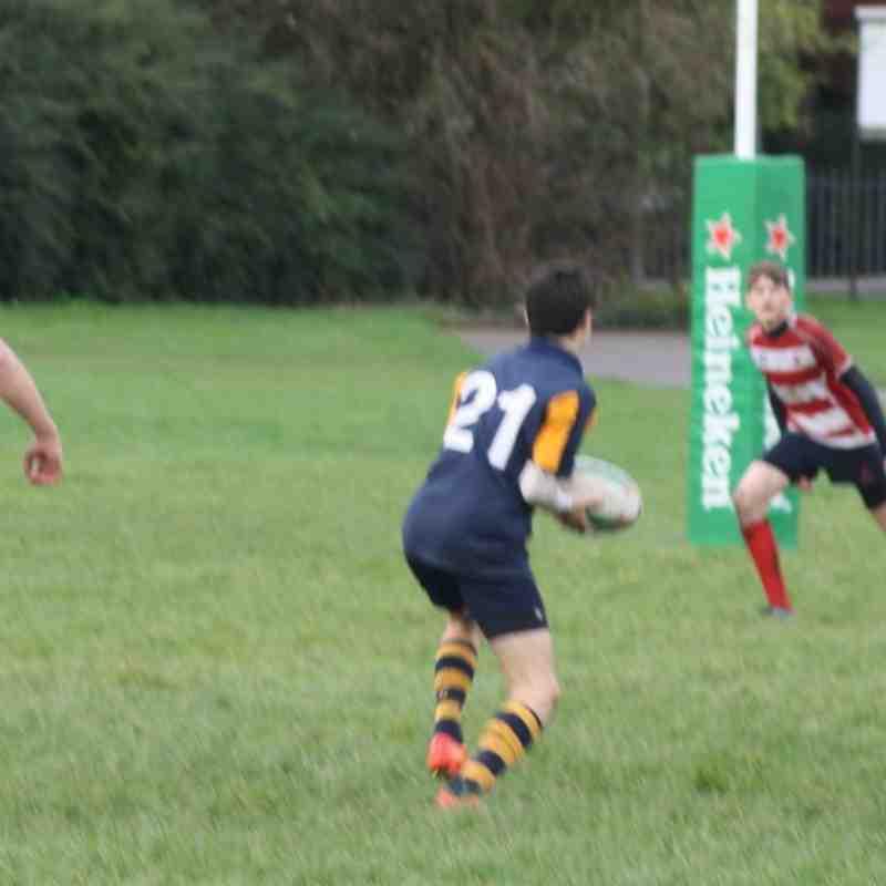 Eastbourne U16's vs Crowborough