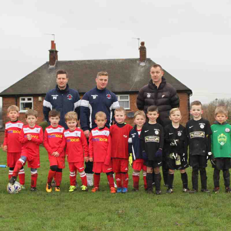 Development Squad at home to Garforth Rangers