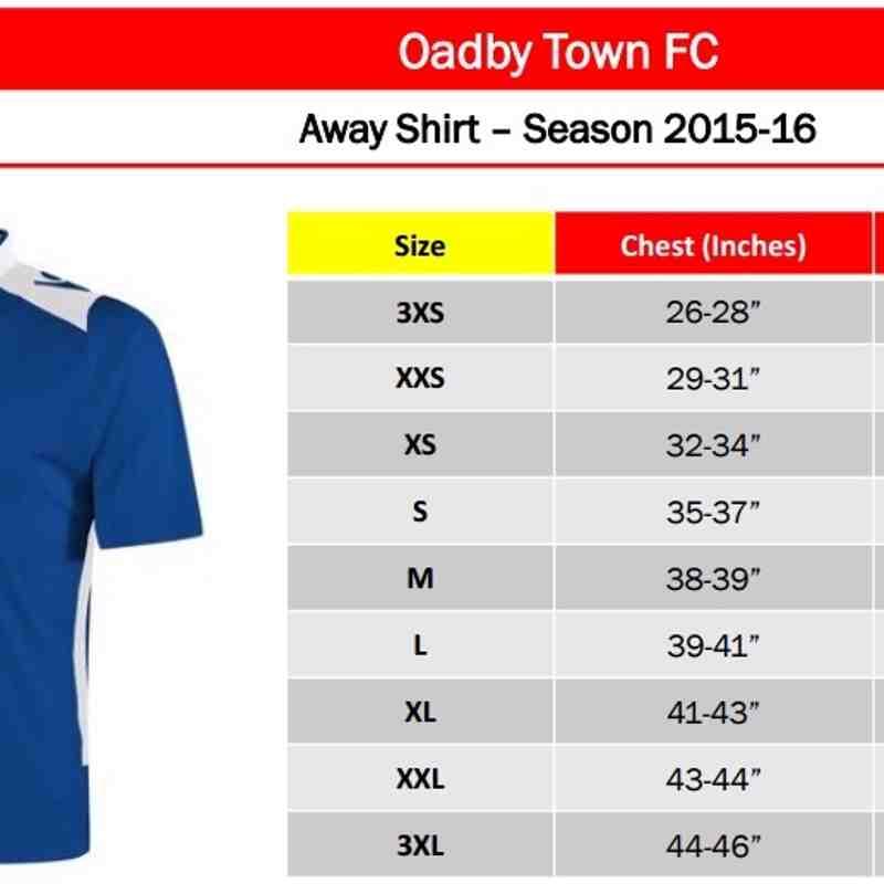 Oadby Town Merchandise