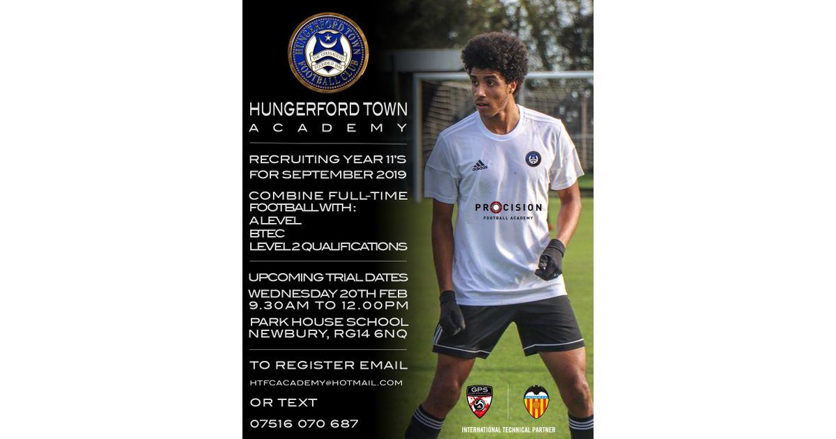 ACADEMY TRIAL DATE IN FEBRUARY - News - Hungerford Town Academy