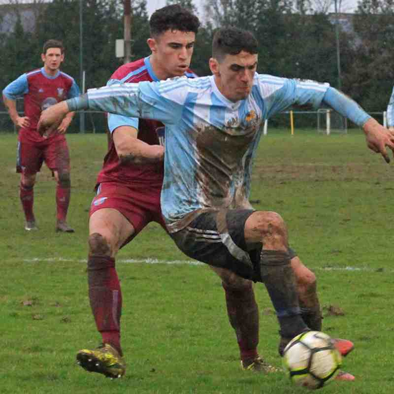 Coventry Sphinx 1-1 Westfields 27.01.2018. Courtesy of Marcus Robinson