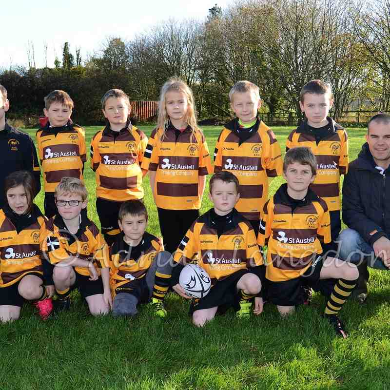 Camels Under 7's team photo 22.11.2015