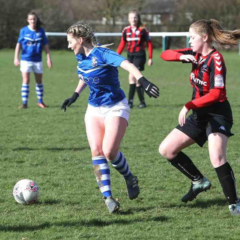 Angels Ladies (1) vs Lewes (2) Chairman's Cup semi final, 10.03.19. By David Couldridge