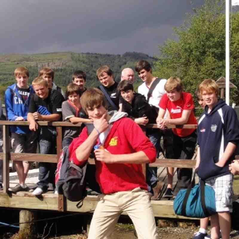 U15 Pre Season Team Building day to Loch Ard nr Aberfoyle