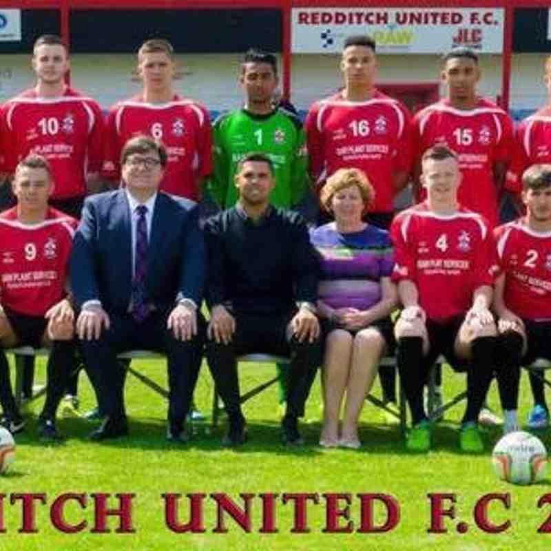 Redditch United First Team 2015/16