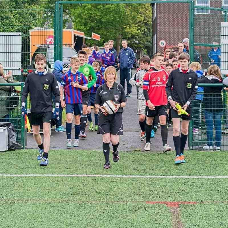 U14's League & Cup Winners 2016