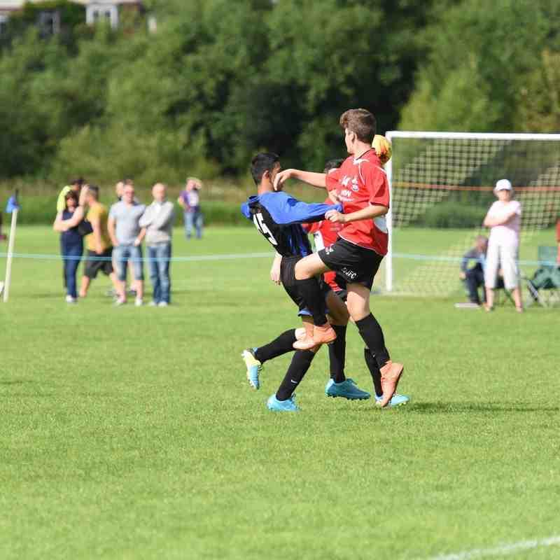 RUJFC U14 Runners Up St John's Tournament 2016