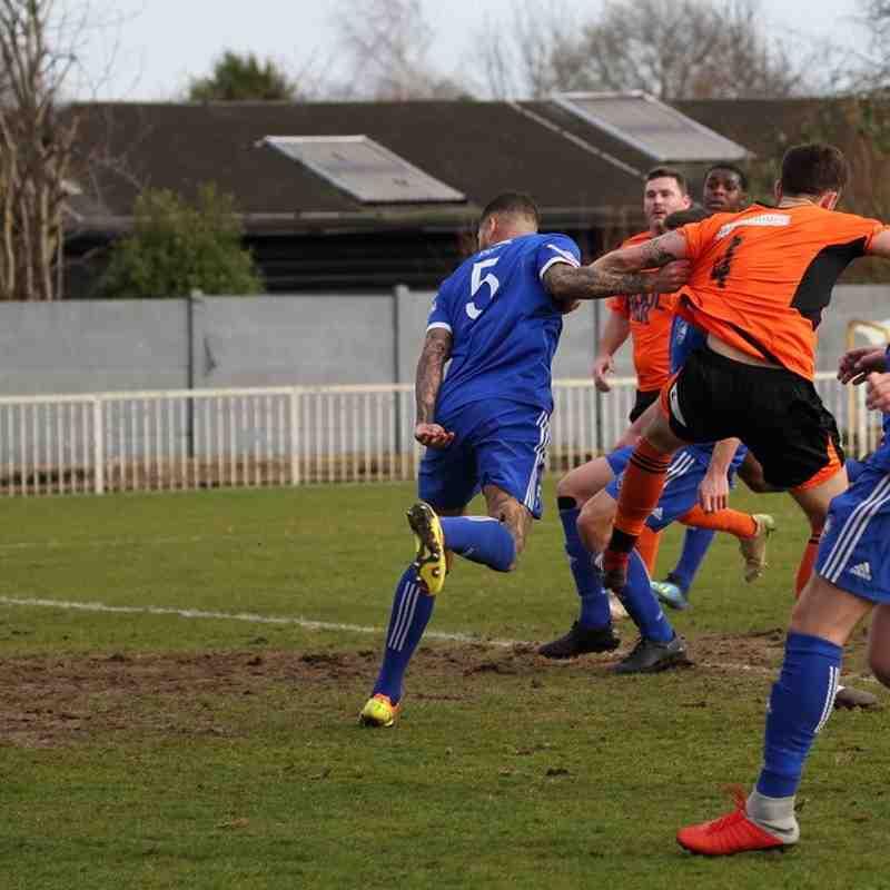 MPFC Vs Wimbourne Town - Courtesy of Chris Bushe