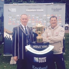 Webb Ellis Cup comes to Cambridge