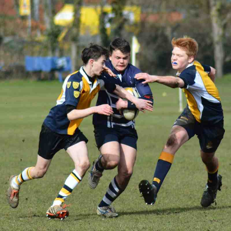 Harrow U15's v Bank of England 6th March 2016