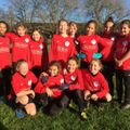 U11 Swans beat Tilehurst Panthers Belles 9 - 2