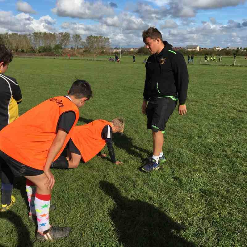 Saints Community Coaches visit RHRUFC