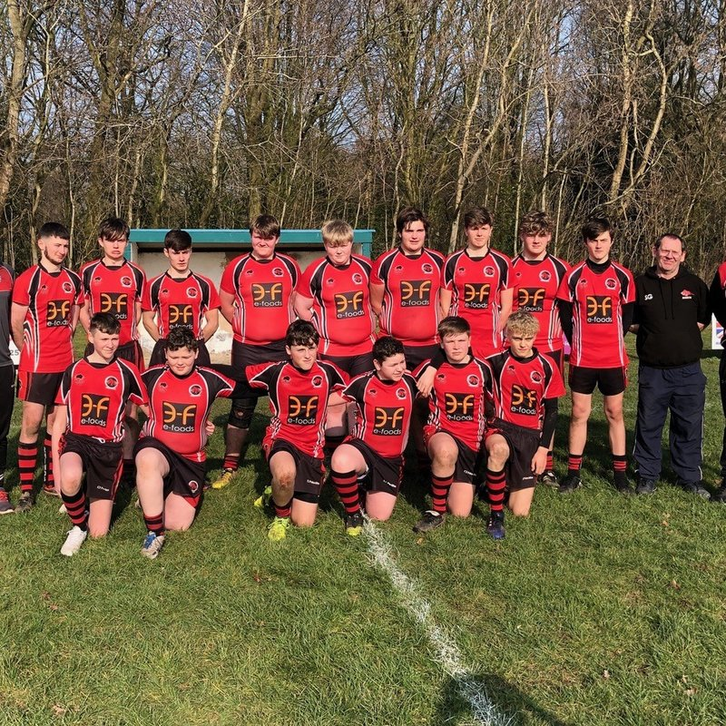 Under 16's lose to Woolston Rovers 0 - 48