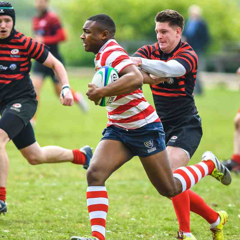 Finchley RFC 1XV Middlesex Bowl Final 2016/17