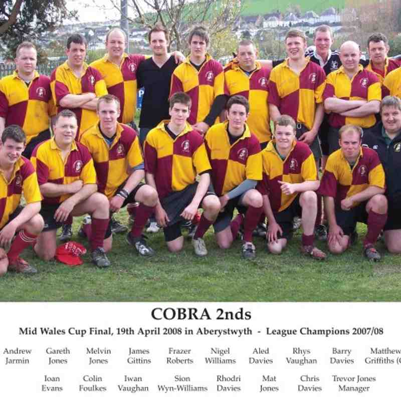 Mid Wales Cup Final 2008 COBRA 2nds v Builth 2nds