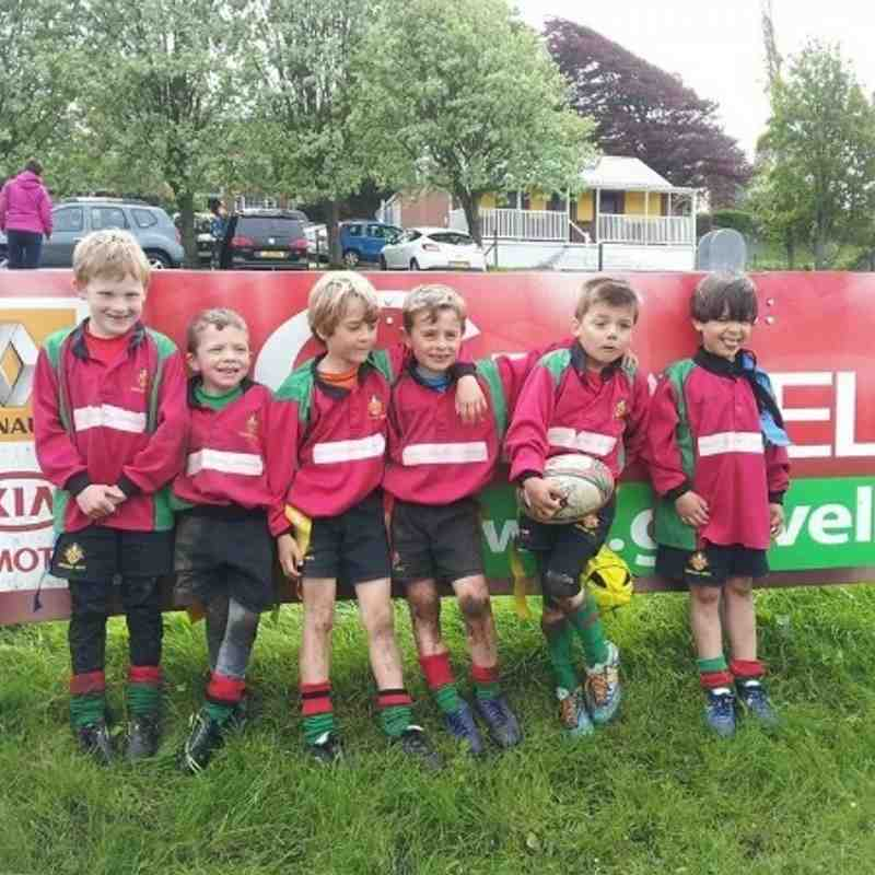 Under7s at Kidwelly tournament