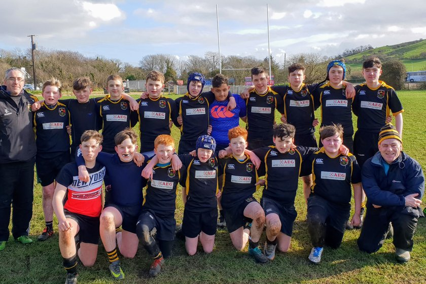 Donegal Town 'Barbarians'  meet  Letterkenny U14