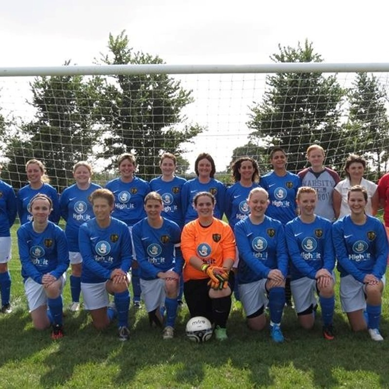 Ladies beat Basingstoke Ladies Reserves 2 - 1