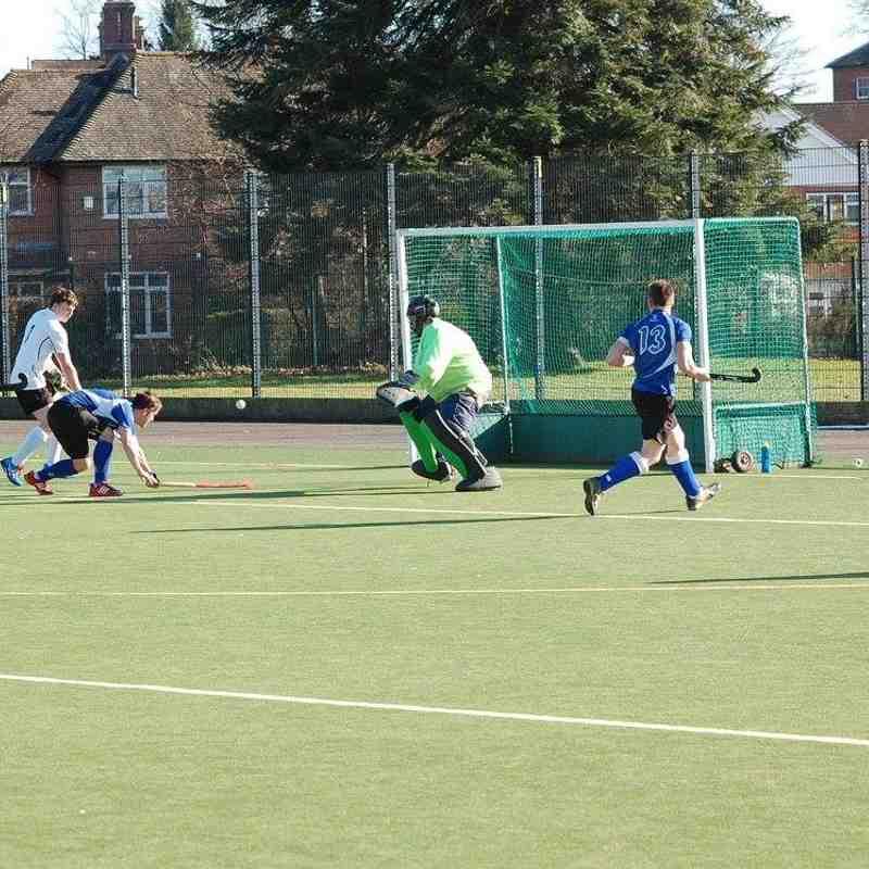 Men's 1s v Chesterfield (7-3)