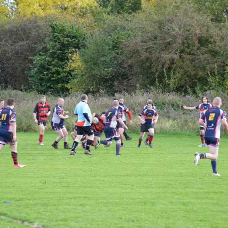 Mold 2 v Shotton 2 20th Oct 2012