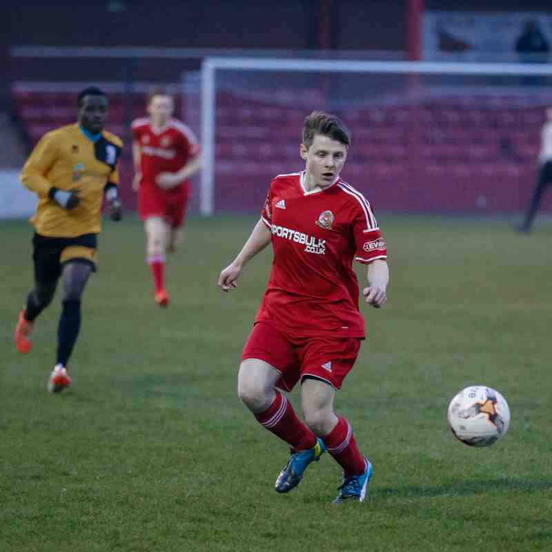 Under 19's v Emley - 27th March 2017