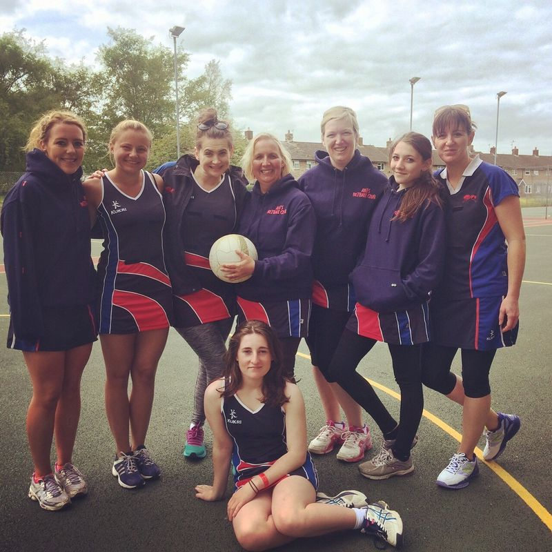 BLACK ANTS Netball Club 0 - 0 TRAINING RED and BLACK