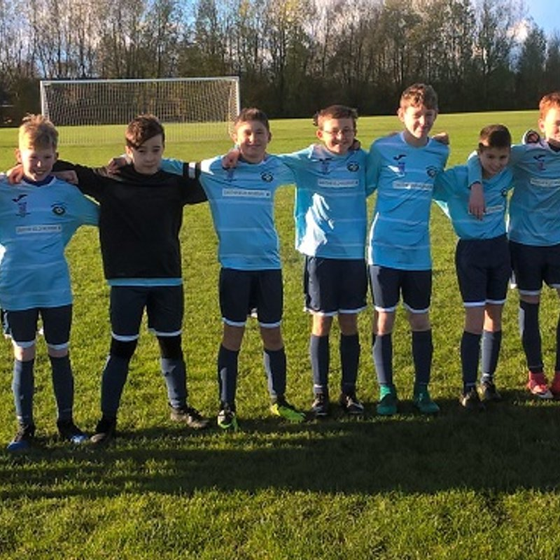 Under 13's Navy beat Hindley Green United 3 - 7