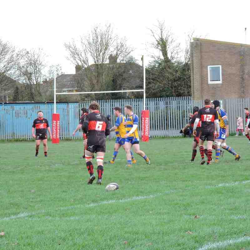 Clevedon RFC 16 Vs 10 Avonmouth OB's