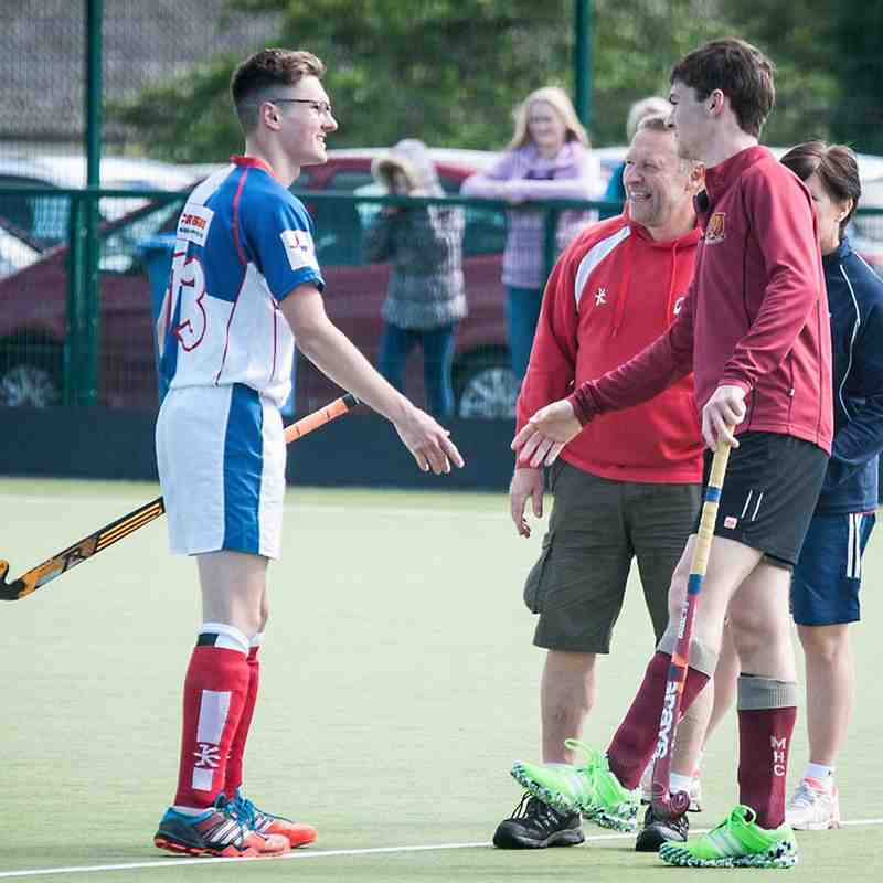 Trevor Lorimer Memorial Day, Under 18's, Mossley vs Antrim