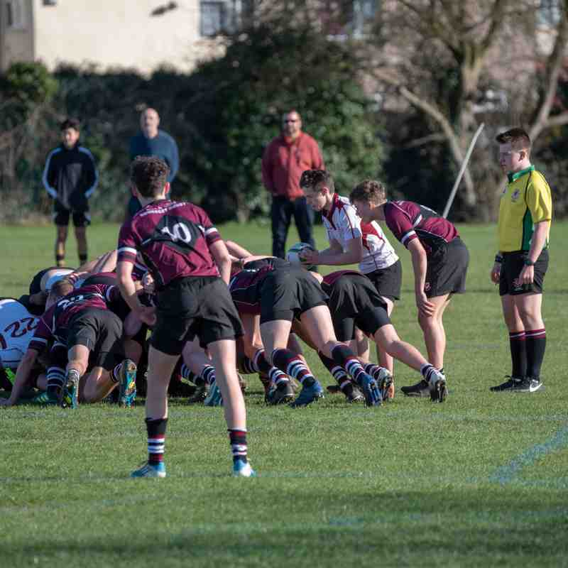 Gloucester U17 v Somerset U17 (Bish Players selected)