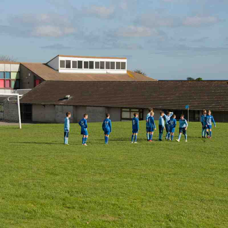 Tynygongl U14s vs Holyhead 201018
