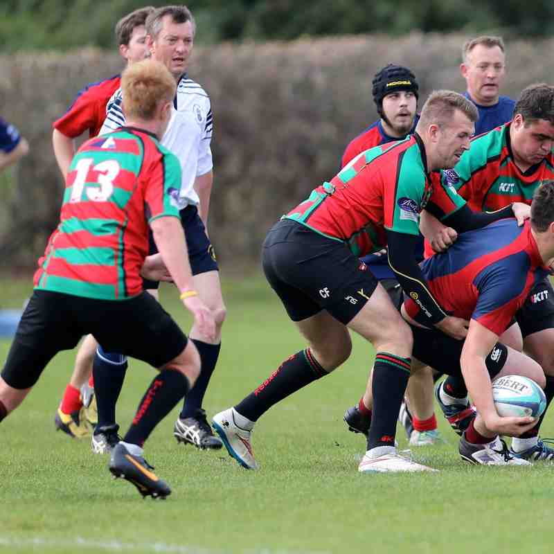 Fawley 2nds vs Millbrook 10th oct 2015
