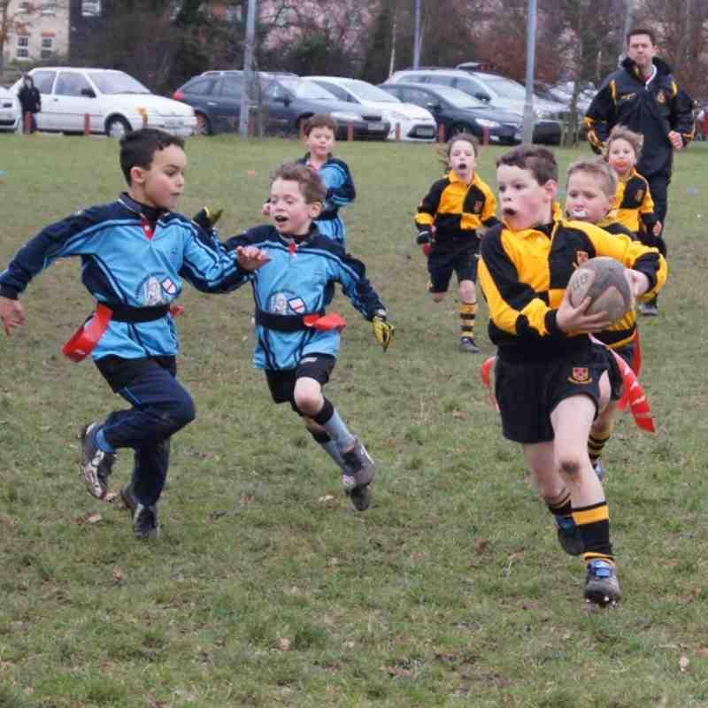 Under 8s - Woodbridge & Southend Jan'12