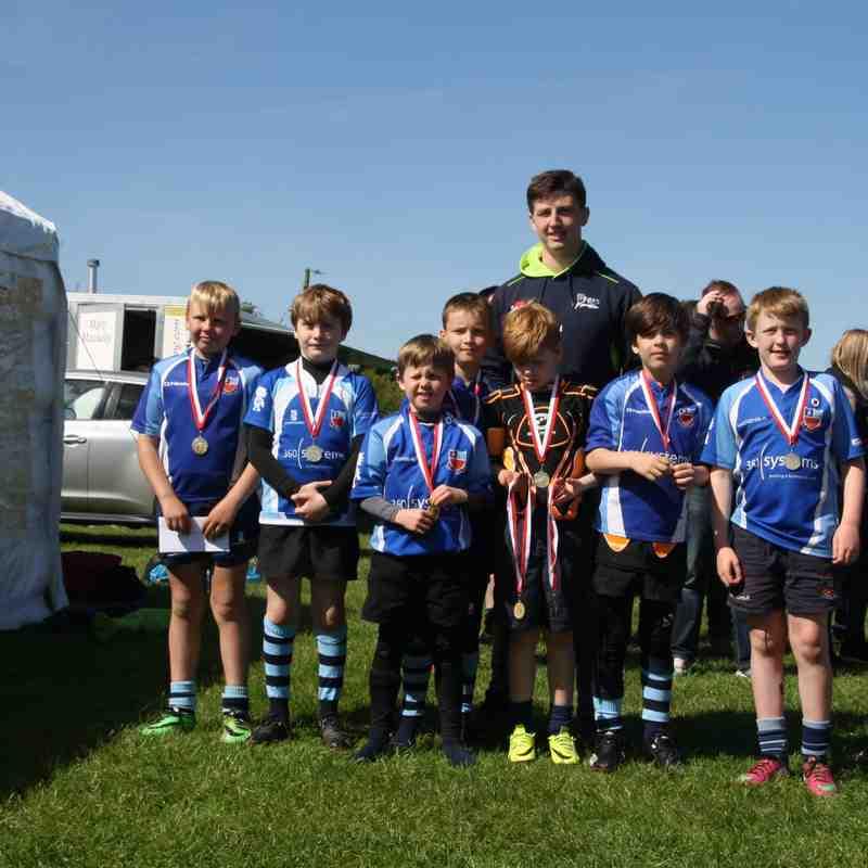 Winnington Park U9 Cheshire Cup 2017