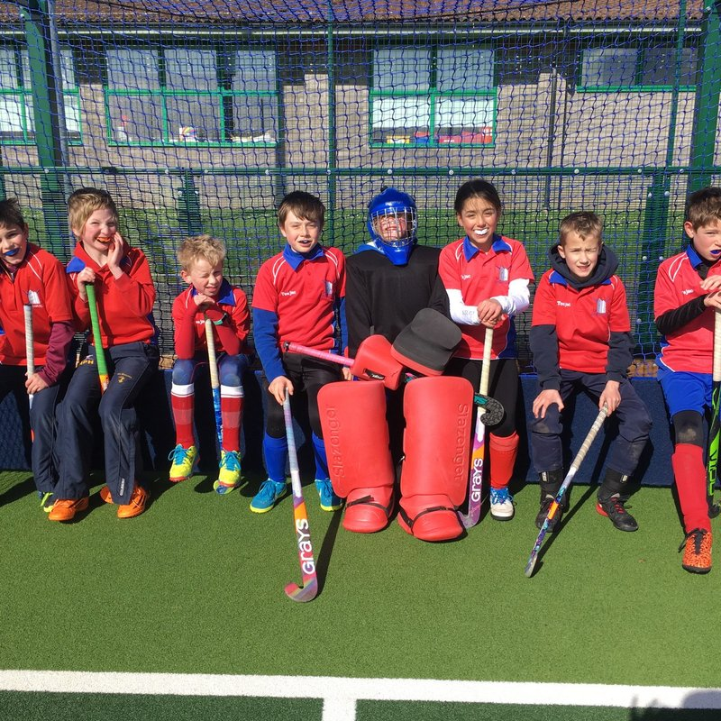 U10s at County Tournament