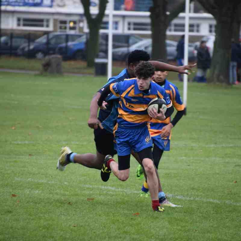 Senior Academy v Eaton Manor 03/12/17